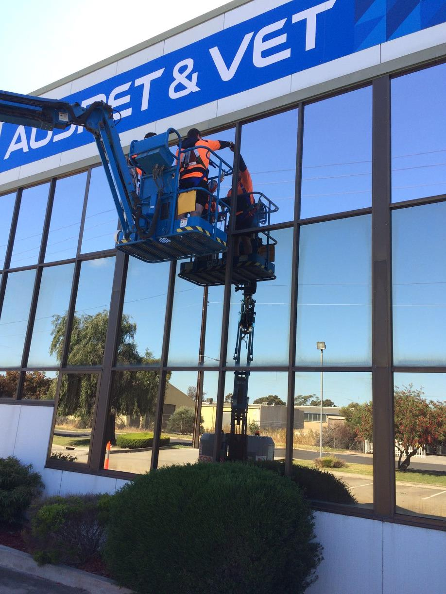 commercial window tinting Adelaide